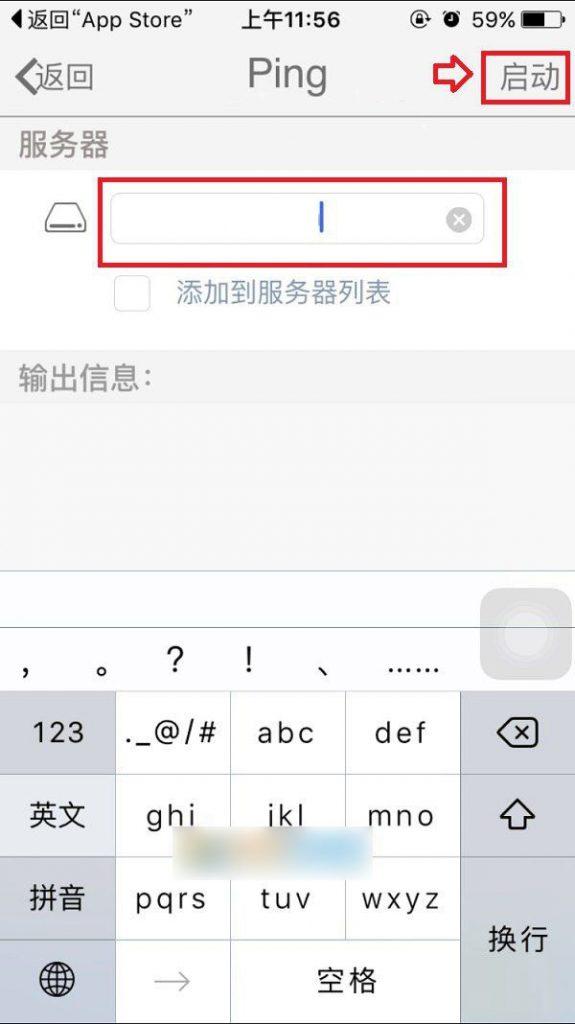 iPhone苹果手机如何进行使用ping域名IP测试网络插图2