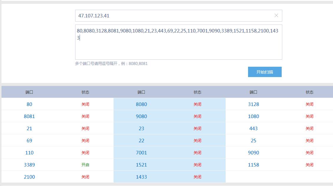 如果检测服务器IP 80端口是否开放插图