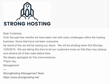 网爆国外20多家VPS服务商集体跑路