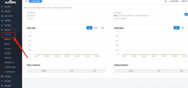 百度AIPage智能建站系统SEO优化功能介绍插图2