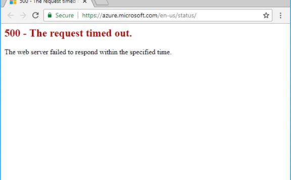 Azure 挂了:云服务被雷击垮了;已持续 22 个小时